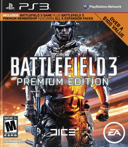 Battlefield 3: Premium Edition - PlayStation 3
