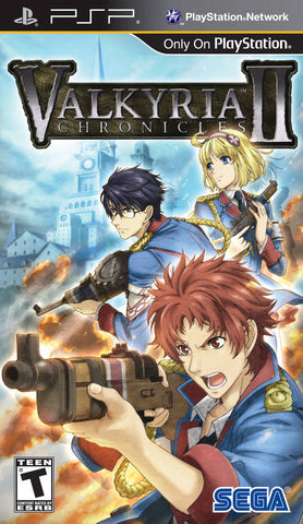 Valkyria Chronicles II - PSP
