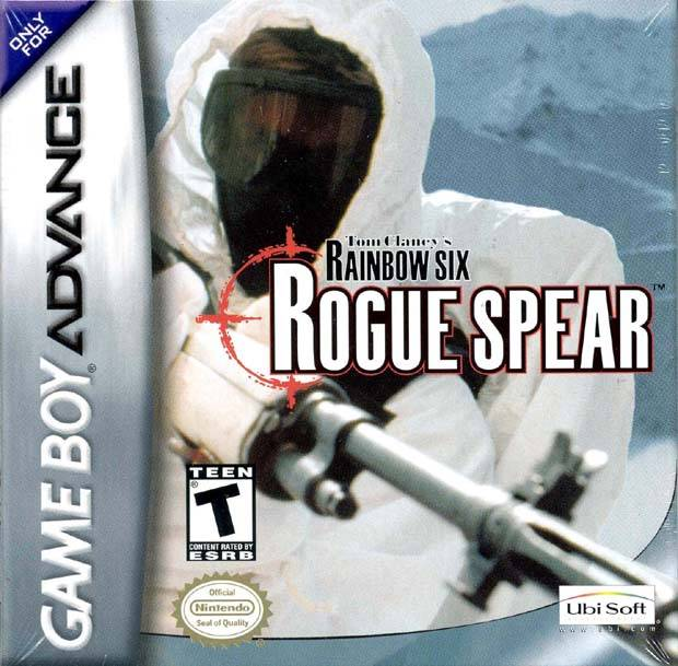 Tom Clancy's Rainbow Six: Rogue Spear - Game Boy Advance (TPS, 2002, US )