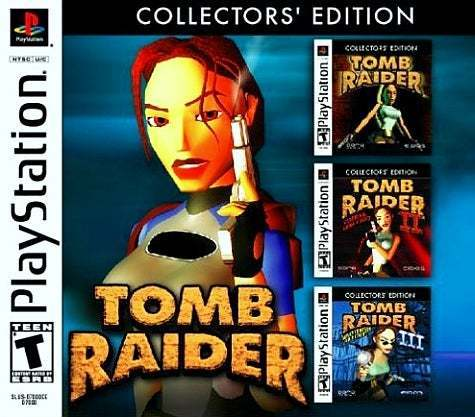 Tomb Raider Collector's Edition - PlayStation