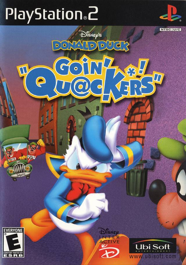 Disney's Donald Duck: Goin' Quackers - PlayStation 2