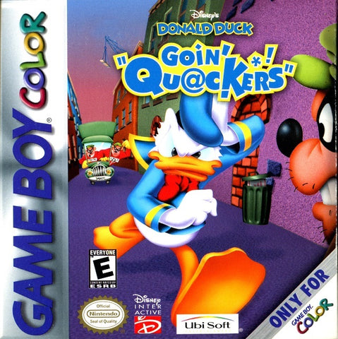 Disney's Donald Duck: Goin' Quackers - Game Boy Color [USED]