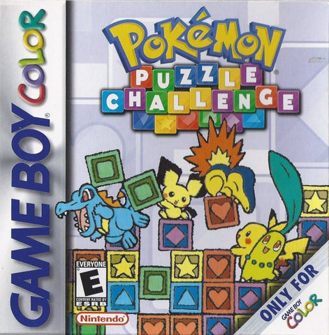 Pokemon Puzzle Challenge - Game Boy Color [USED]