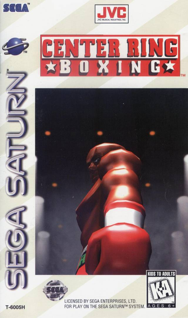 Center Ring Boxing - SEGA Saturn [USED]