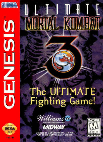 Ultimate Mortal Kombat 3 - SEGA Genesis [USED]