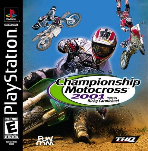 Championship Motocross 2001 Featuring Ricky Carmichael - PlayStation