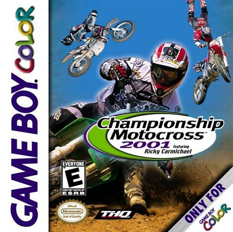 Championship Motocross 2001 Featuring Ricky Carmichael - Game Boy Color [USED]