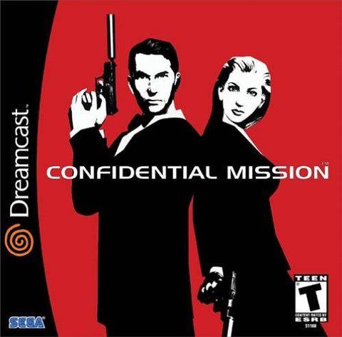 Confidential Mission - SEGA Dreamcast (STG, 2001) [USED]