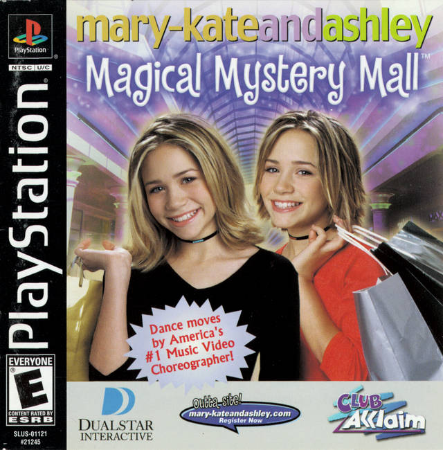 Mary-Kate and Ashley: Magical Mystery Mall - PlayStation