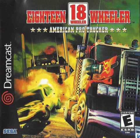 18 Wheeler: American Pro Trucker - SEGA Dreamcast (Racing, 2000, US)