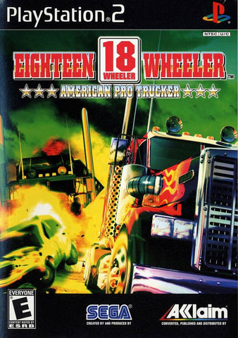 18 Wheeler: American Pro Trucker - PlayStation 2