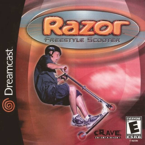 Razor Freestyle Scooter - SEGA Dreamcast [NEW]