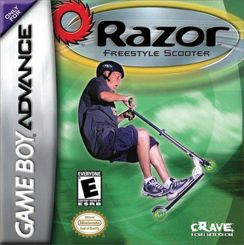 Razor Freestyle Scooter - Game Boy Advance [USED]