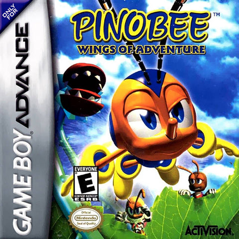 Pinobee: Wings of Adventure - Game Boy Advance [USED]