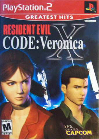 Resident Evil Code: Veronica X (Greatest Hits) - PlayStation 2