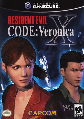 Resident Evil Code: Veronica X - GameCube [USED]