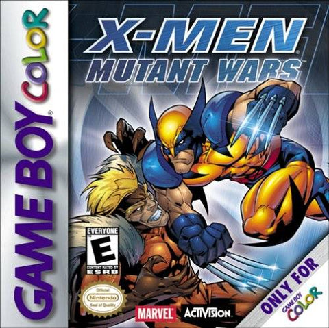 X-Men: Mutant Wars - Game Boy Color [USED]