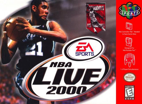NBA Live 2000 - Nintendo 64 [USED]