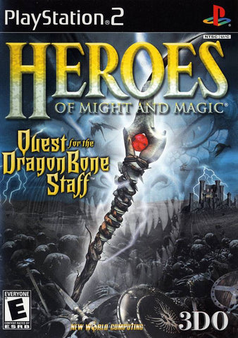 Heroes of Might and Magic: Quest for the Dragon Bone Staff - PlayStation 2