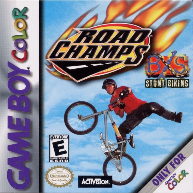 Road Champs: BXS Stunt Biking - Game Boy Color