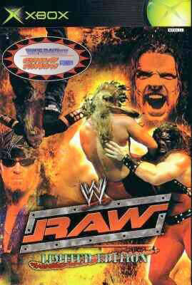 WWE Raw (Limited Edition) - Xbox (Japan)