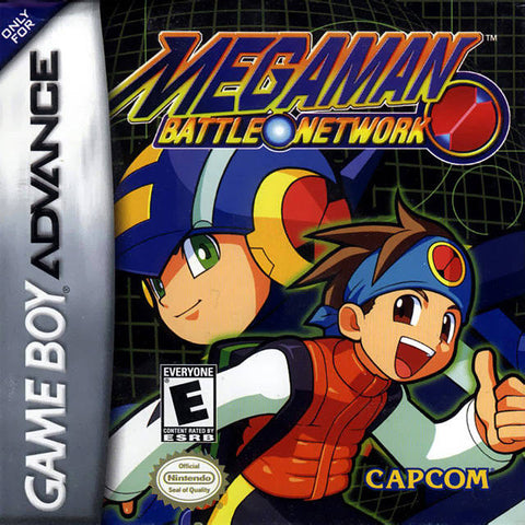 Mega Man Battle Network - Game Boy Advance [USED]