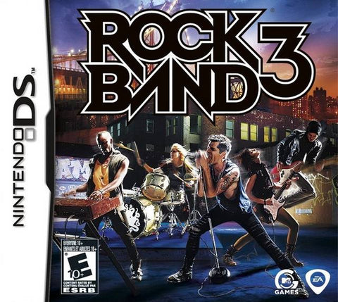 Rock Band 3 - Nintendo DS
