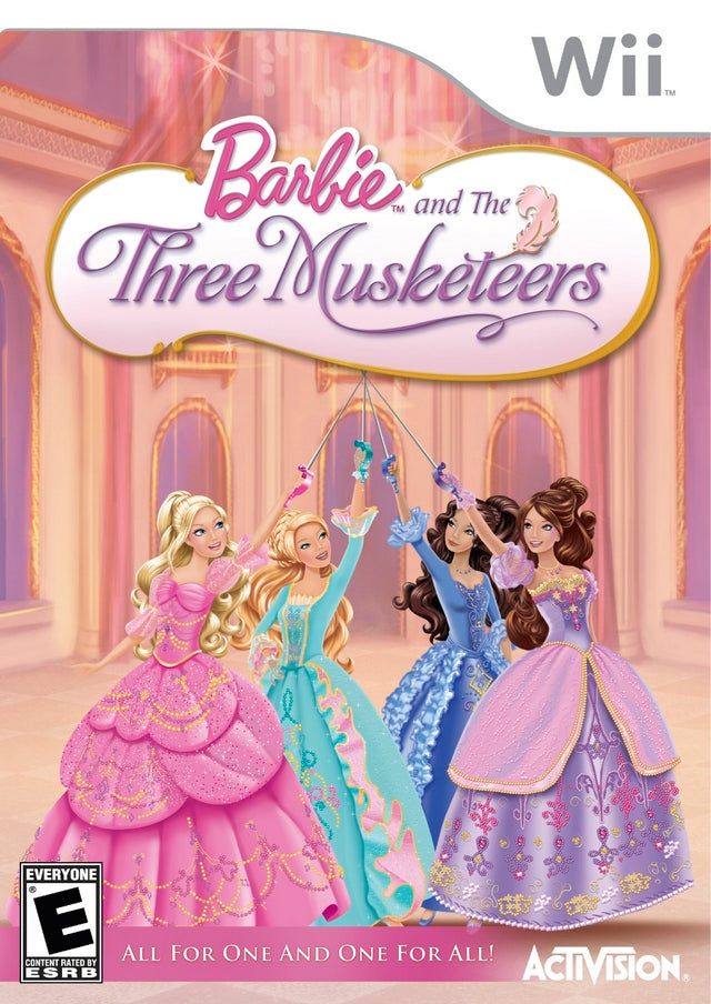 Barbie and the Three Musketeers - Nintendo Wii [USED]