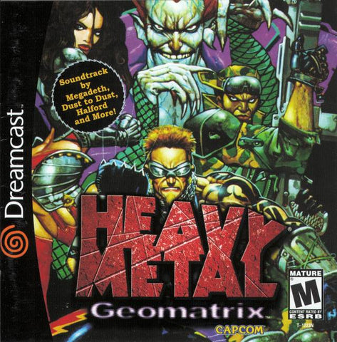 Heavy Metal: Geomatrix - SEGA Dreamcast (ACT, 2001) [USED]