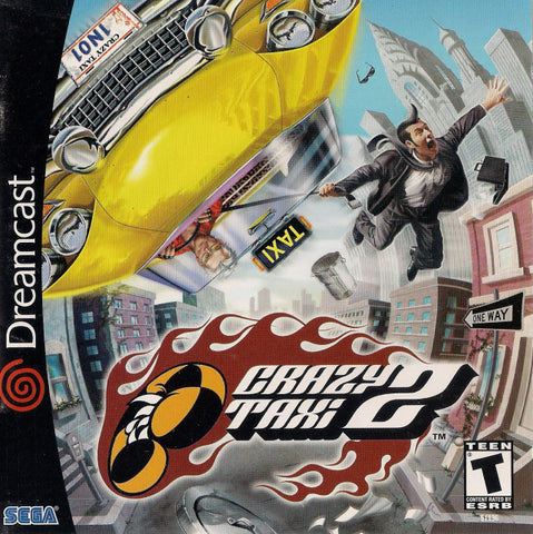 Crazy Taxi 2 - SEGA Dreamcast (RAC, 2001) [USED]