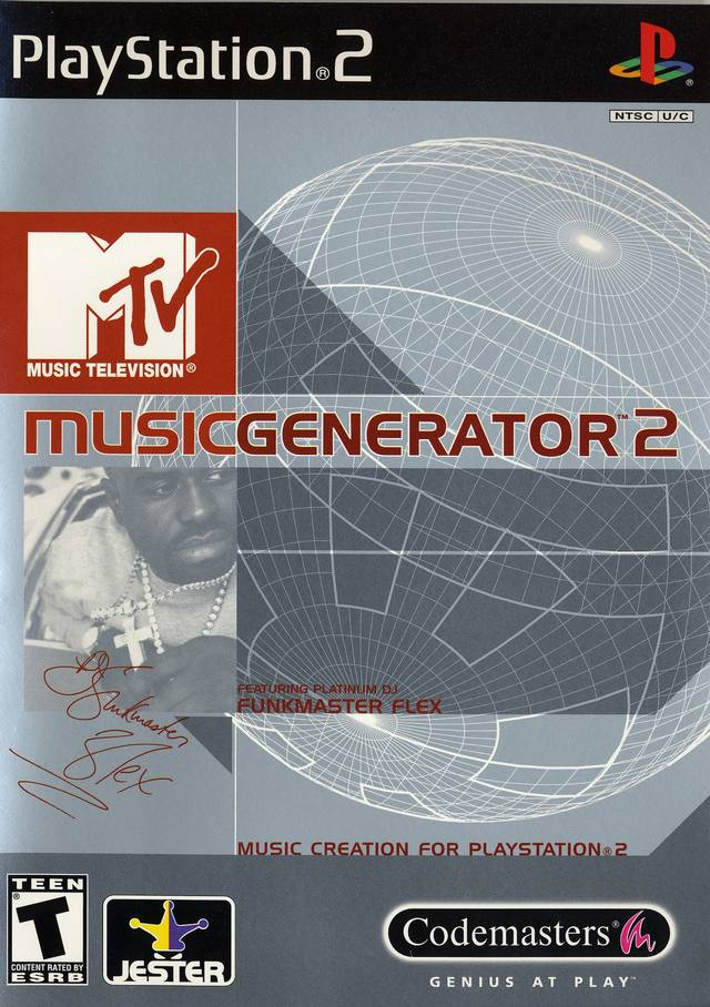 MTV Music Generator 2 - PlayStation 2