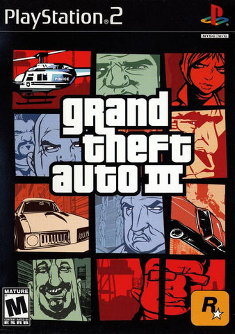 Grand Theft Auto III - PlayStation 2