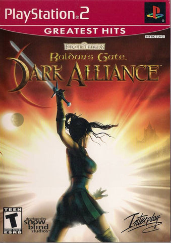 Baldur's Gate: Dark Alliance (Greatest Hits) - PlayStation 2