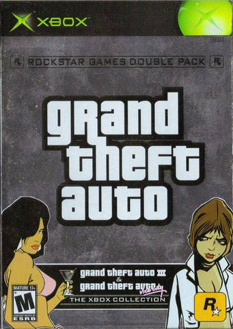 Grand Theft Auto Double Pack - Xbox (Misc, 2003, US)
