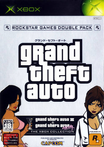 Grand Theft Auto Double Pack - Xbox (Misc, 2003, JP)