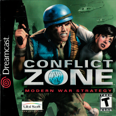 Conflict Zone - SEGA Dreamcast (RTS, 2001) [USED]