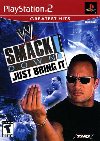 WWF SmackDown! Just Bring It (Greatest Hits) - PlayStation 2