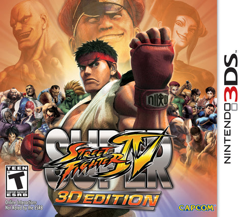 Super Street Fighter IV: 3D Edition - Nintendo 3DS [NEW]