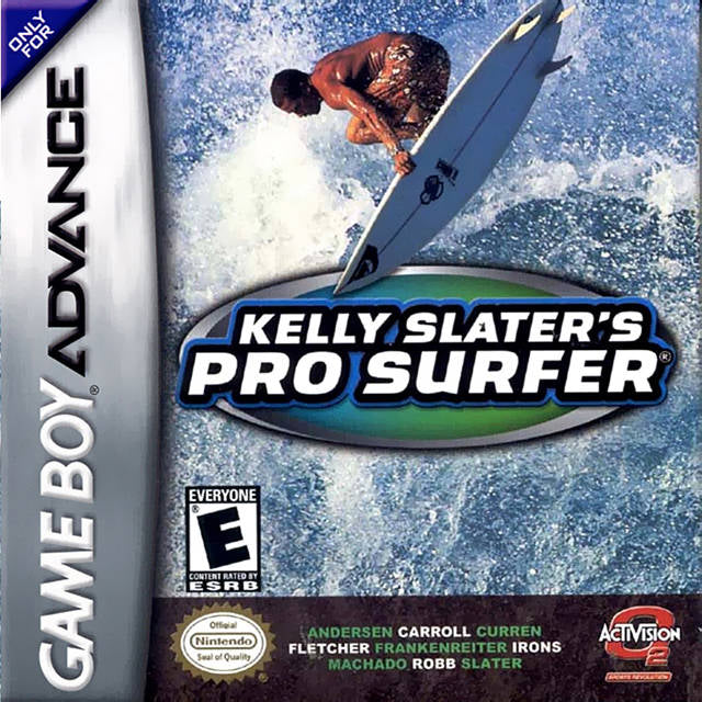 Kelly Slater's Pro Surfer - Game Boy Advance (Sports, 2002, US )