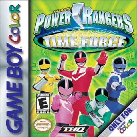Power Rangers: Time Force - Game Boy Color [USED]