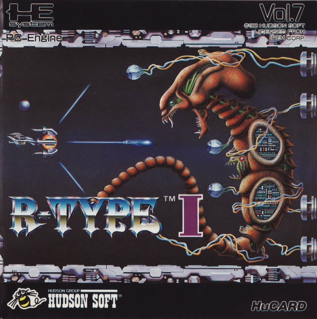 R-Type I - TurboGrafx-16 (Japan)
