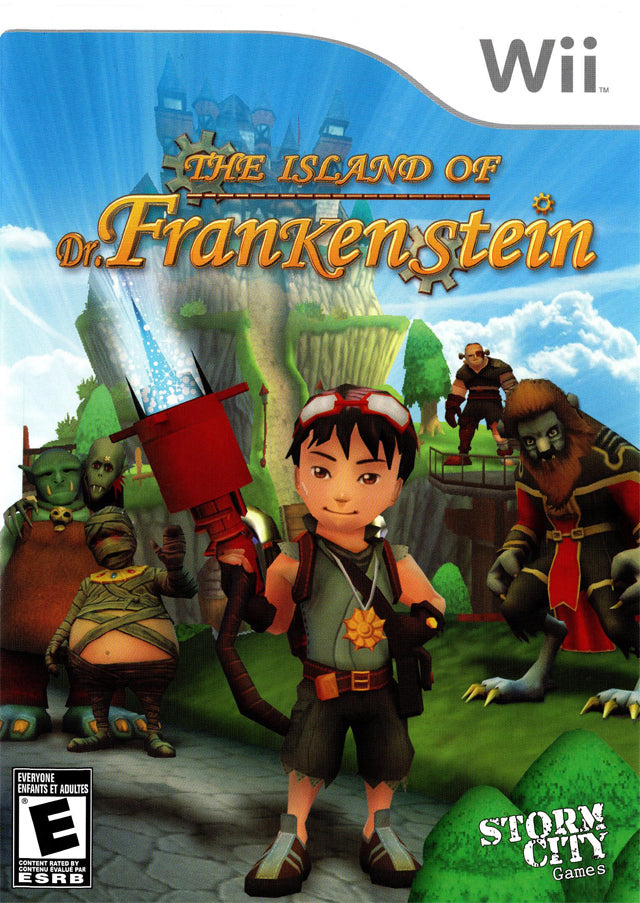 Island of Dr. Frankenstein - Nintendo Wii [USED]