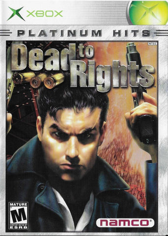 Dead to Rights (Platinum Hits) - Xbox