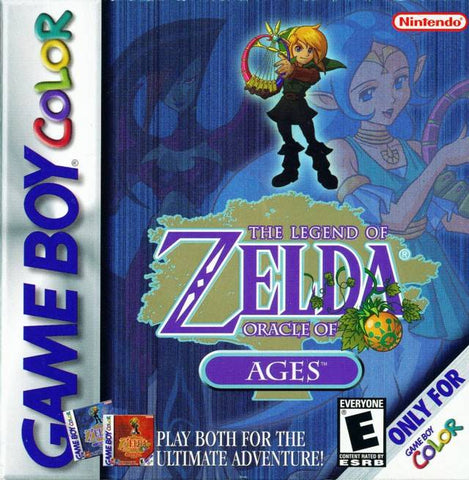 The Legend of Zelda: Oracle of Ages - Game Boy Color [USED]