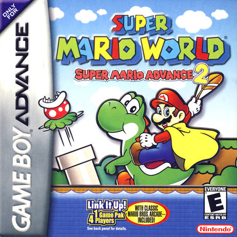 Super Mario World: Super Mario Advance 2 - Game Boy Advance [USED]