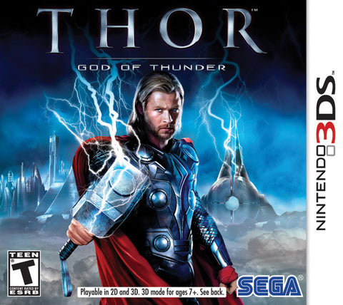 Thor: God of Thunder - Nintendo 3DS [USED]
