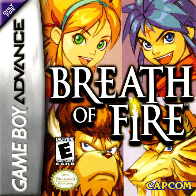 Breath of Fire - Game Boy Advance (JRPG, 2001, US )