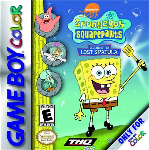 SpongeBob SquarePants: Legend of the Lost Spatula - Game Boy Color [USED]