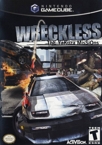 Wreckless: The Yakuza Missions - GameCube [USED]