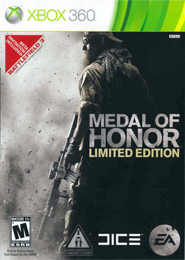 Medal of Honor (Limited Edition) - Xbox 360